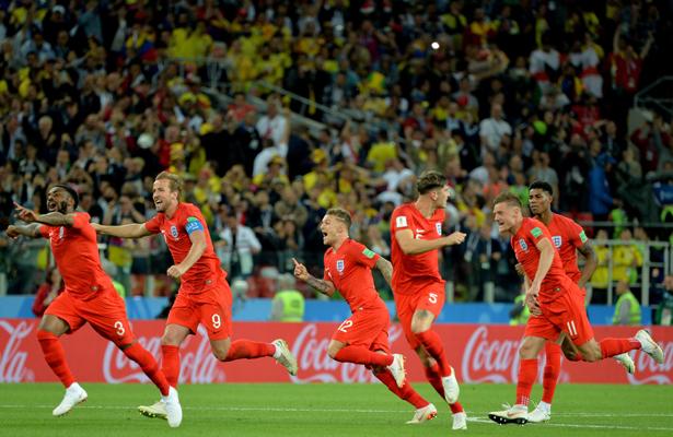 Inglaterra elimina a Colombia en penales