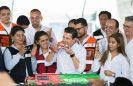 [Video] Peña Nieto festeja sus 52 años