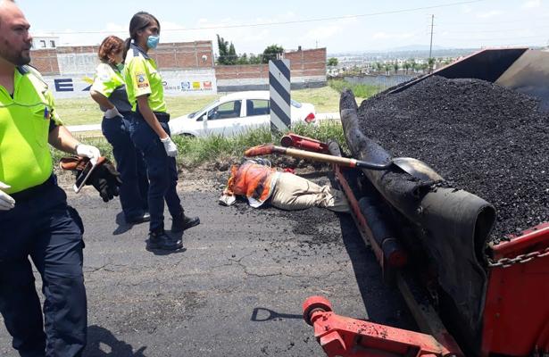 Terrible muerte de trabajador estatal, en Aguascalientes