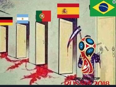 A los brasileños se las aplicaron los belgas