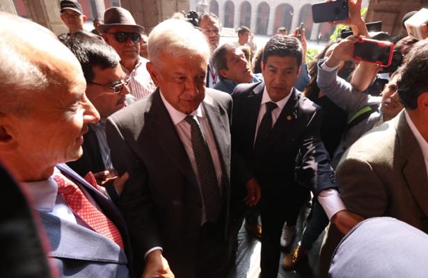 AMLO se reunió con Cárdenas antes de llegar a Palacio Nacional