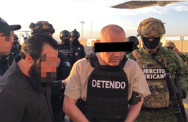 """Extraditan al narcotraficante """"El Licenciado"""" a Estados Unidos"""