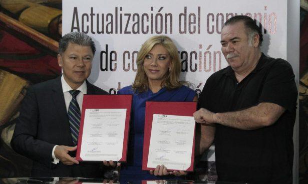 Firman convenio de salud la ANDA y Sedesa