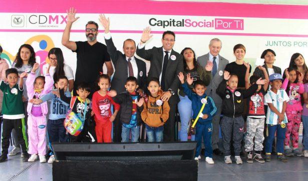 """Inaugura DIF CDMX """"Juguete Urbano"""" en el Barrio de Tepito"""