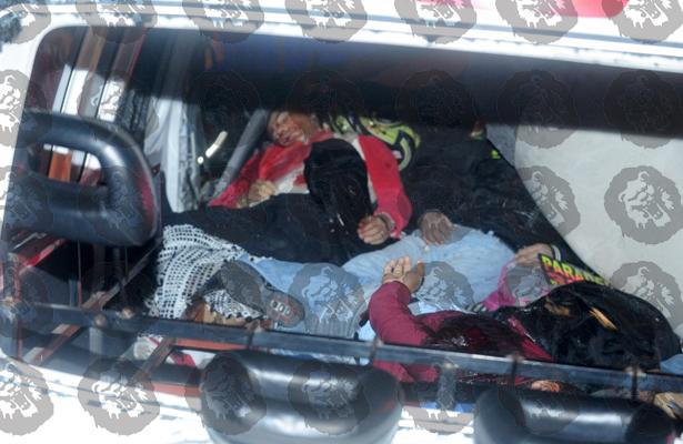 Violento choque de combi deja 12 muertos en la México-Pachuca (FOTOS)
