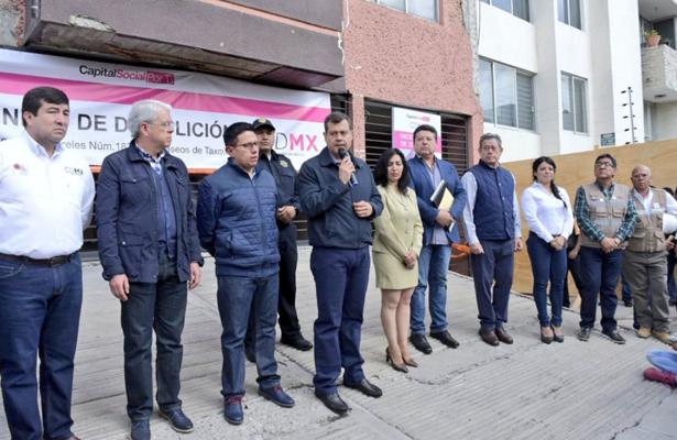 La reconstrucción de la CDMX trasciende a cualquier gobierno: Amieva