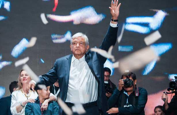 Amenece López Obrador con el 53.70 por ciento de la votación