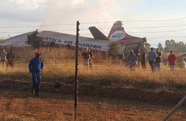 Se estrella avioneta en Sudáfrica,hay 20 heridos
