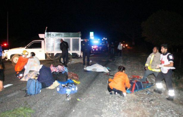Carretazo en Chiapas dejó un muerto y 21 heridos
