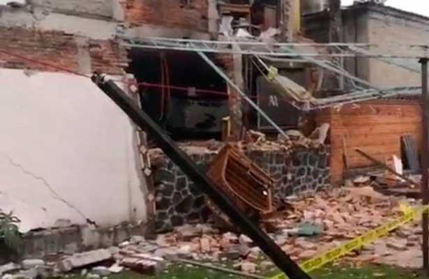 Explotan departamentos en Tlalpan por acumulación de gas