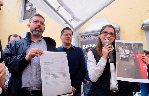 Impugna Magui Fisher la elecciones para alcalde en la Miguel Hidalgo