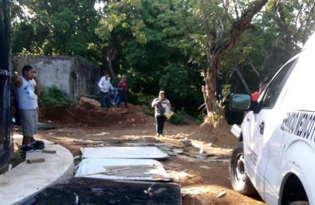 Hallan cadáver en fosa clandestina, en Acapulco
