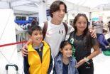 Llega segundo contingente de atletas mexicanos a Colombia