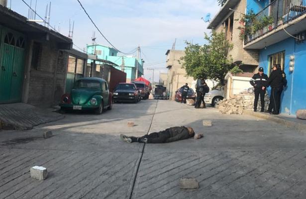 Le meten tres tiros en calles de la Gustavo A. Madero