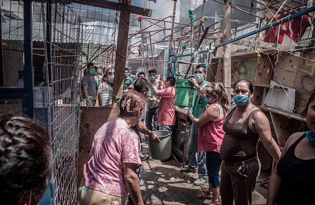 Comienza reconstrucción en Tamazuchale