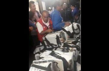 [Video] Demandan castigo ejemplar a quienes robaron urnas en la GAM