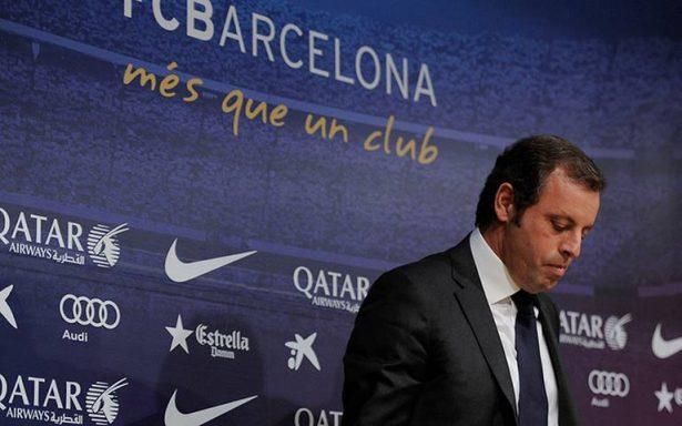Acusan de fraude fiscal al expresidente del FC Barcelona Sandro Rosell