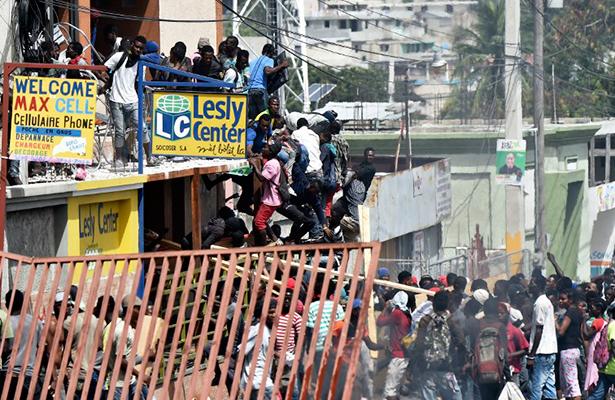 Nuevos saqueos en Puerto Príncipe previo a huelga de dos días
