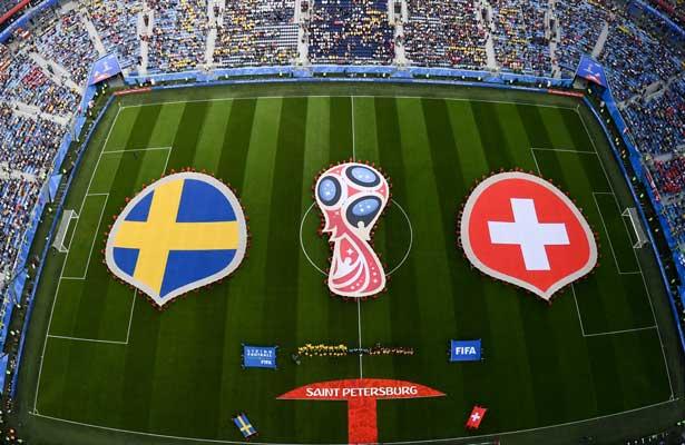 Suecia y Suiza, por el pase a cuartos de final