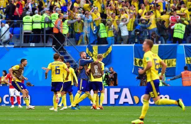 Suecia avanza a la siguiente ronda con la mínima
