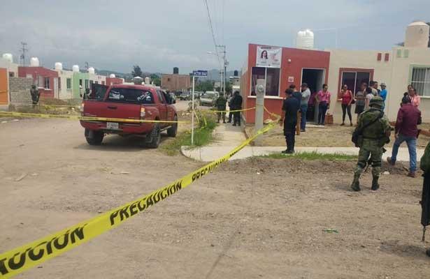 Asesinan a balazos a presidente de Tecalitlán