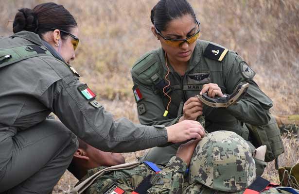 Destacan mujeres en la Armada de México [Videos]