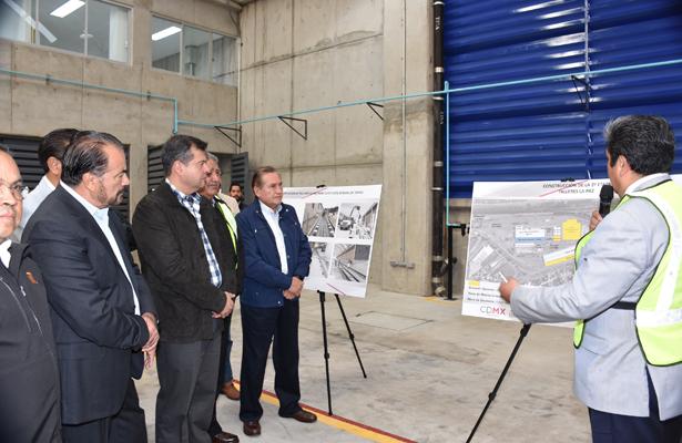 Inauguran ampliación de Talleres para el metro de la CDMX