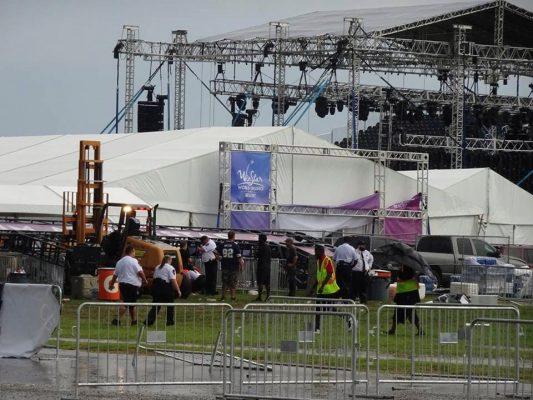 Tormenta deja 14 heridos en concierto de Backstreet Boys en Oklahoma