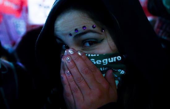 (Galería) Rechaza Senado legalización de aborto en Argentina
