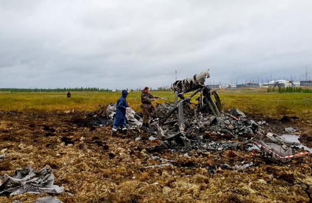Helicóptero deja 18 muertos tras estrellarse en Rusia