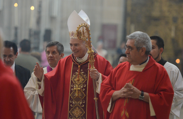 La Catedral Metropolitana festeja su fiesta patronal
