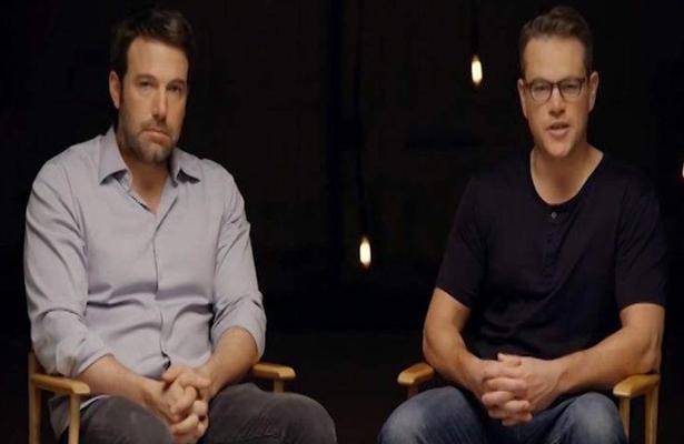 Ben Affleck y Matt Damon volverán a trabajar juntos