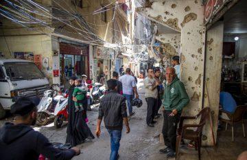 Fotorreportaje / Refugiados palestinos en el Líbano