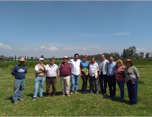 Lorena Osornio impulsa proyecto en Xochimilco