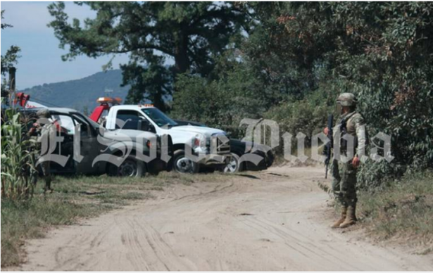 Enfrentamiento en Puebla deja siete huachicoleros abatidos