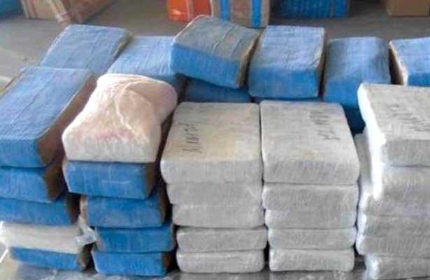 Aseguran cocaína y heroína con valor superior a 1.5 MDD