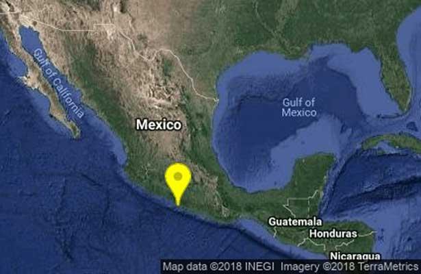Registra Guerrero sismo de 5.2 grados