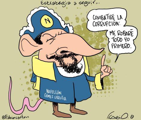 Este es el cartón de Fabio en La Prensa