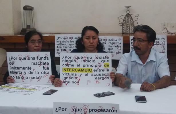 Denuncian injusticia en caso de feminicidio ocurrido Oaxaca