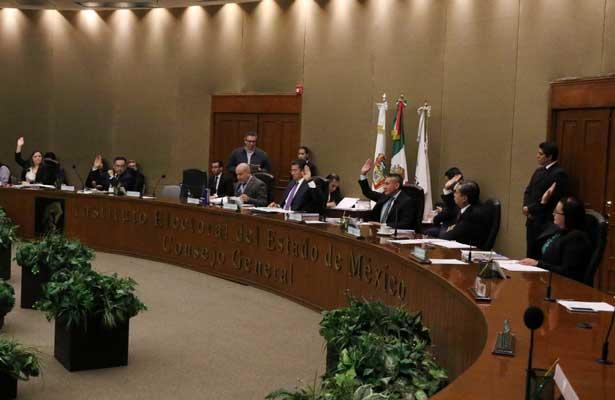 Presupuesto del IEEM para 2019 supera los 1,200 mdp