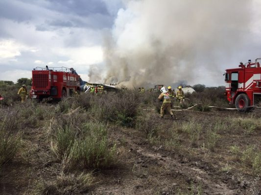Descartan primeros indicios error humano en accidente aéreo de Durango