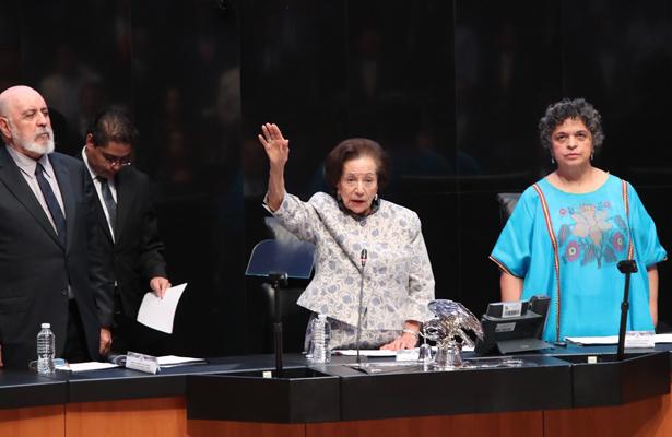 Inseguridad y corrupción, temas por atender en el Senado: Ifigenia Martínez