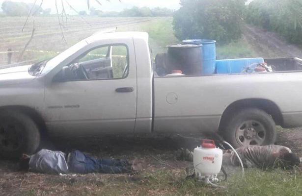 Les descargan la 'fusca' a 4 campesinos en Tamaulipas