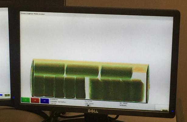 PF asegura en el AICM 120 kilos de cristal