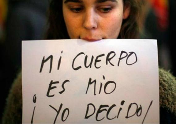 El aborto, es la decisión de una mujer