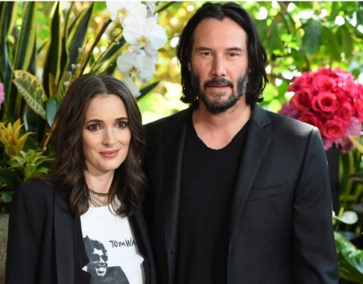 Winona Ryder y  Keanu Reeves podrían estar casados