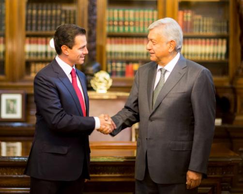 AMLO sostendrá reunión con EPN