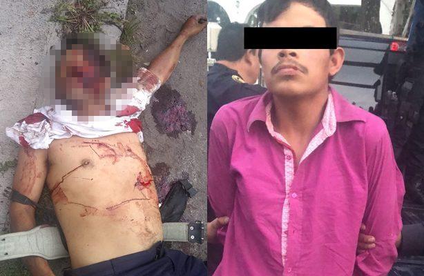 Cae asesino del apuñalado de Tláhuac