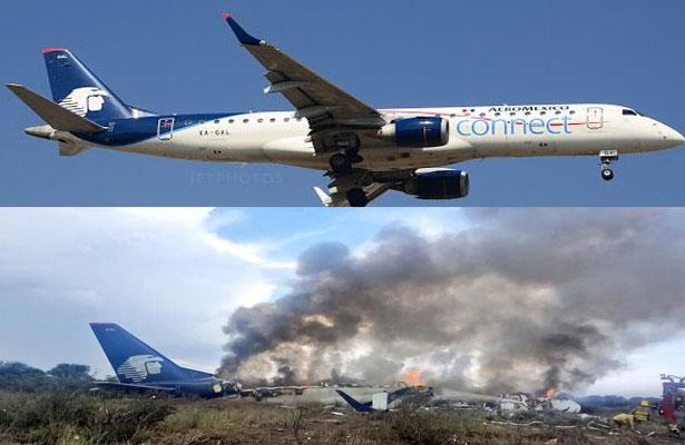 Pasajeros relatan como fue el accidente de avión den Durango [AUDIO Y VIDEO]