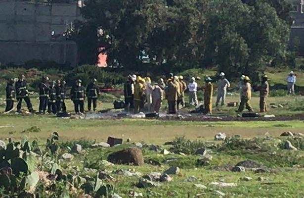 Evacuan a pobladores de Ecatepec por fuga de Gas LP